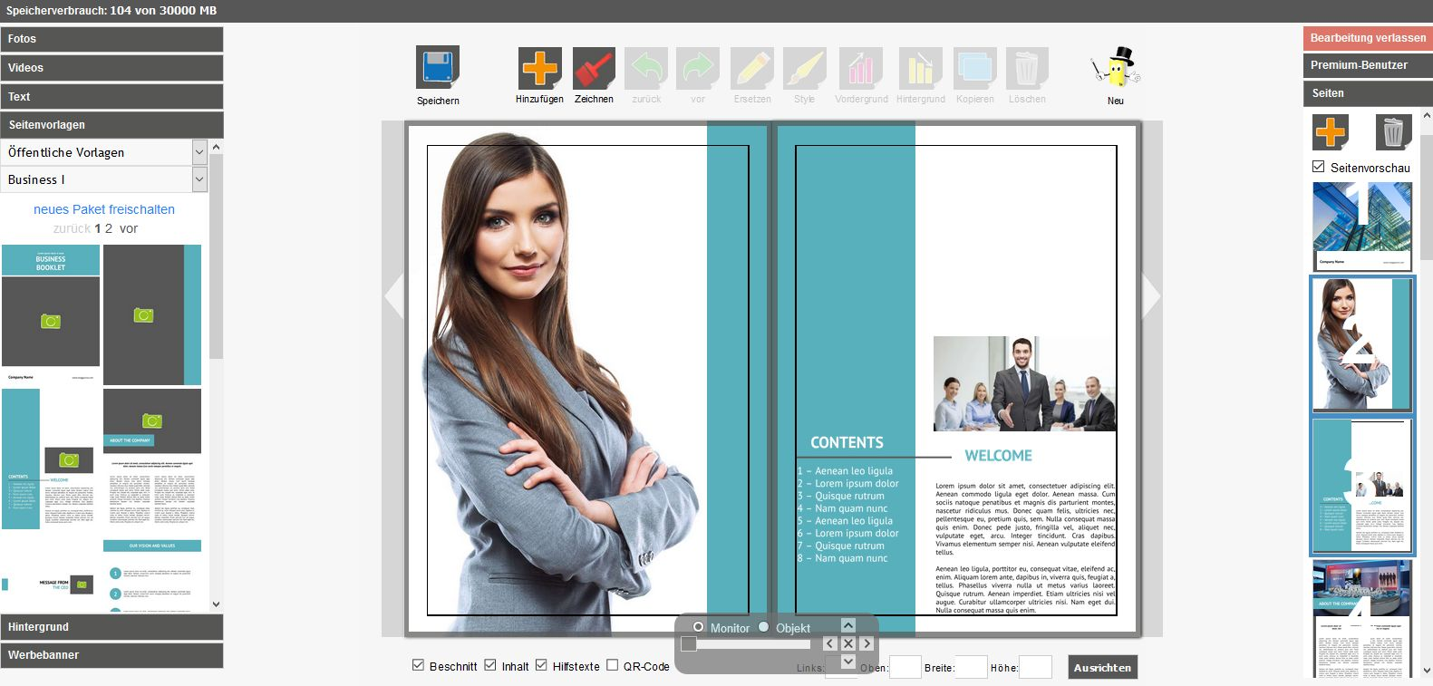 Mag Glance: Free online brochure maker | Print your brochure
