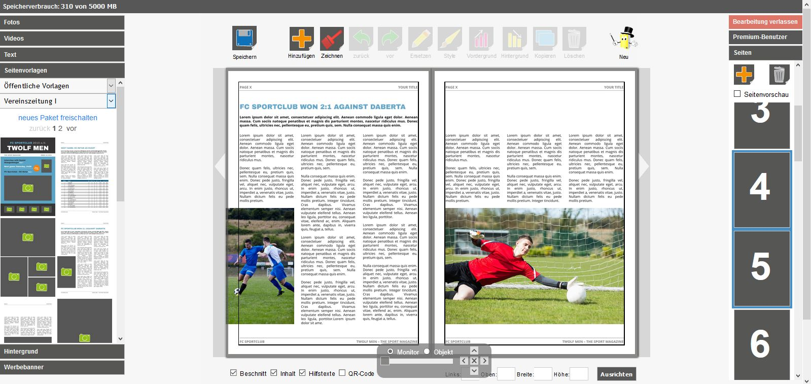 Mag Glance: Create club magazine online | Print your club magazine